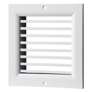 VENTS ONG, ONV series single-row grilles with fixed louvers