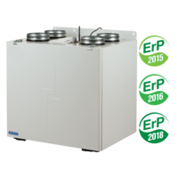 VENTS VUT/VUE V(B) EC A14/A21 air handling units with heat recovery