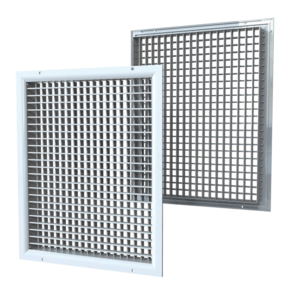 VENTS DR series double-row grilles with adjustable louvers
