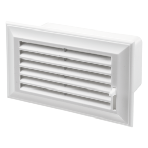 VENTS End grille with air pass regulation