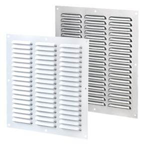 VENTS Supply and exhaust multiple-row metal grilles MVMP series