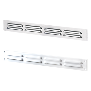 VENTS Supply and exhaust metal slot edge-raised grilles MVMPO series