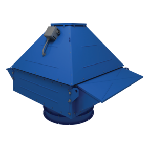 Roof-mounted smoke removal fan VENTS VKDV