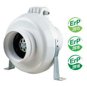 Inline centrifugal fans VENTS VK EC series