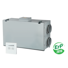 VENTS VUT/VUE 250 H mini air handling units with heat recovery