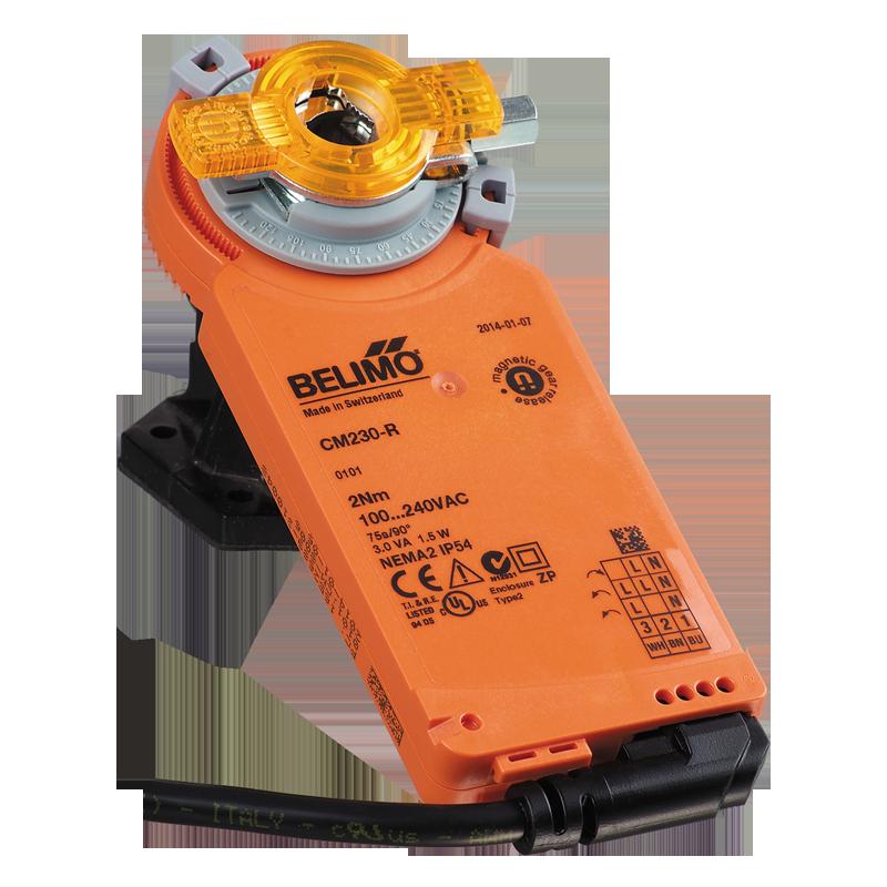 electric actuators belimo cm230/cm24  official vents website