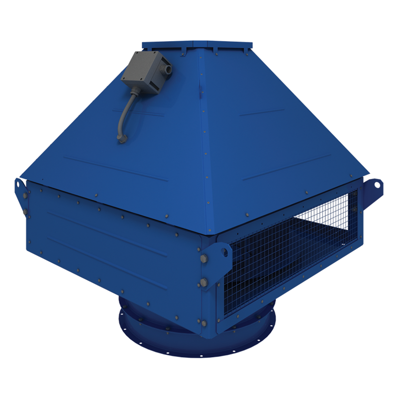 Roof-mounted smoke removal fan VENTS VKDH