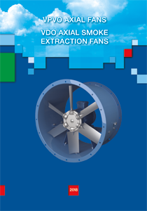 Axial fans VENTS VPVO. Axial smoke extraction fans VENTS VDO.