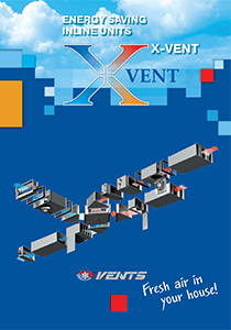 """Energy saving inline units X-VENT"" catalog 2015"