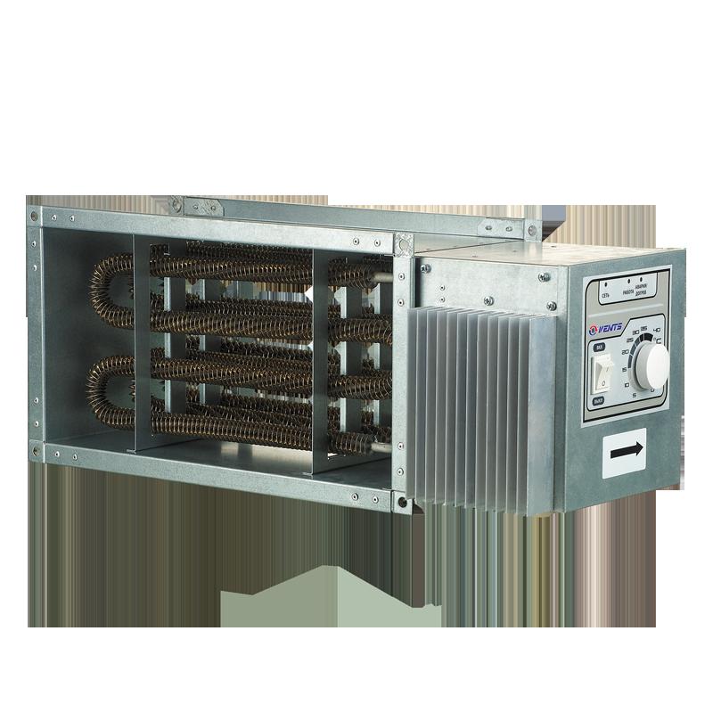 Warmwasser-Heizregister - elektrische Heizung | Vents.ua
